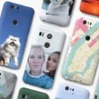 Nexus-Smartphones: Googles anpassbare Foto-Schutzhüllen haben einen Knopf