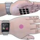 Skinhaptics: Ultraschall macht die Hand zum Display