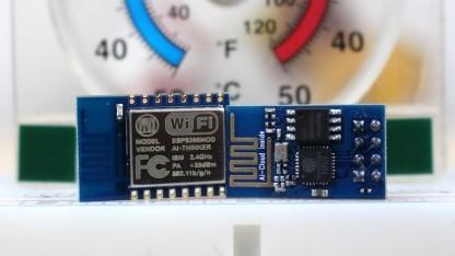 ESP-8266-12 und ESP-8266-01-Modul