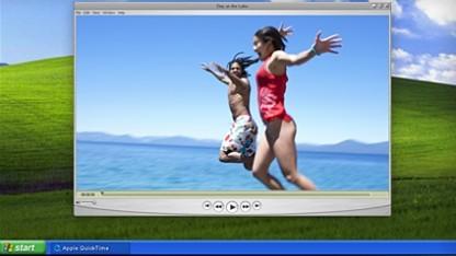 Apples Quicktime-Beispielrechner läuft noch auf Windows XP.