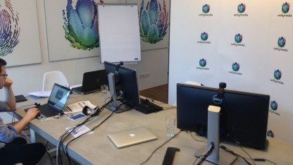 Unitymedia bei der virtuellen Pressekonferenz