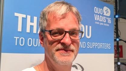 Teut Weidemann auf der Quo Vadis 16