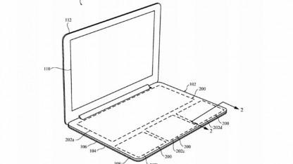Apples Idee eines tastaturlosen Macbooks