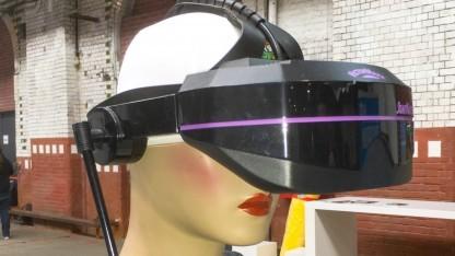 Retro-VR-Headset auf der Quo Vadis 16