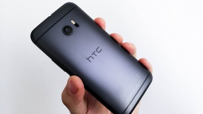 Das HTC 10 bekommt Werbeeinblendungen an prominenter Stelle.