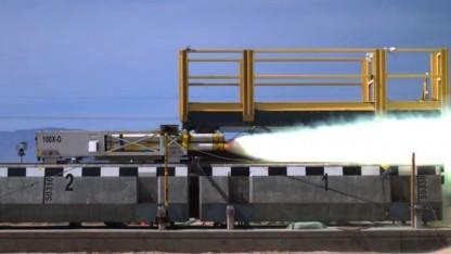 Reketenschlitten: supraleitende Magnete