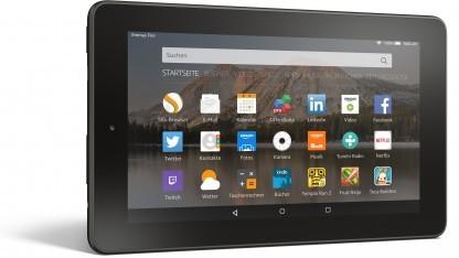 Fire-Tablet kostet mit 16 GByte Flash-Speicher 10 Euro mehr.