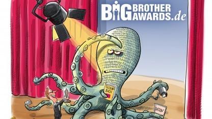 Die diesjährige Negativauszeichnung geht an IBM, die BVG und den Verfassungsschutz.
