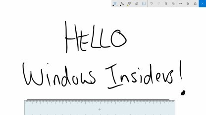 Die Stifteingabe soll mit der neuen Preview merklich verbessert und erweitert werden.