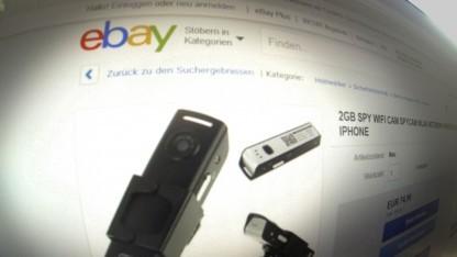 Spionage-Kamera bei eBay