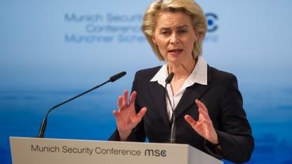 Ursula von der Leyen auf der Münchener Sicherheitskonferenz
