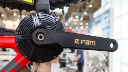 Fahrradantrieb E-Ram: Nachrüstsatz soll 2017 auf den Markt kommen.