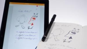 Das Moleskine Smart Writing Set mit Stift, Notizbuch und digitalisierten Inhalten