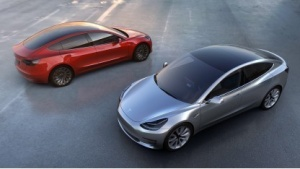 Tesla Model 3 (Bild: Tesla Motors), Tesla Model 3