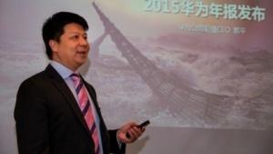 Guo Ping, Huaweis stellvertretender Vorstandsvorsitzender