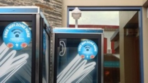 Telefonzelle in Neuseeland