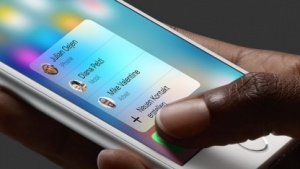 3D-Touch ruft ein Kontextmenü auf.