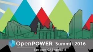 Zurzeit findet der Open Power Summit statt