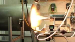 Zephyr-Triebwerk im Test: Paraffin und flüssiger Sauerstoff