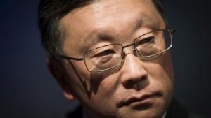 Blackberry-Chef John Chen verkündet zwei neue Android-Smartphones für dieses Jahr.