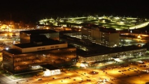 Das NSA-Hauptgebäude.