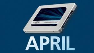 Crucal MX300 noch im April