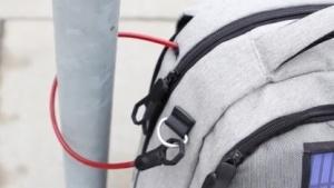 Lifepack-Rucksack mit Solarzelle und Akku