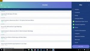 Die App für die Facebook-Konferenz F8 nutzt React Native und läuft schon auf Windows.