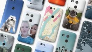 So können die Foto-Schutzhüllen für die Nexus-Smartphones aussehen.