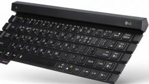 LGs Rolly Keyboard 2 mit fünf Tastenreihen