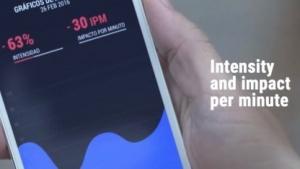 Mit Hilfe einer App sollen sich verschiedene Parameter der Matratze abrufen lassen.