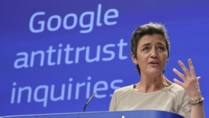 EU-Wettbewerbskommissarin Margrethe Vestager will weiter gegen Google vorgehen.