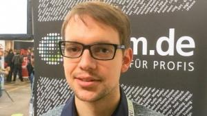 Data Scientist Dr. Matthias Platho auf der Quo Vadis 16