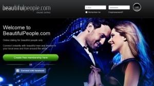 Die Webseite Beautifulpeople ist ein umstrittener Dating-Anbieter.