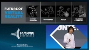 Injong Rhee spricht über VR-Headsets.