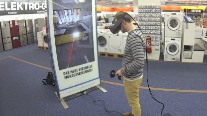 VR-Küche bei Saturn in Berlin