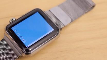 Windows 95 funktioniert auf einer Apple Watch. Allerdings nur als Emulation innerhalb einer App.