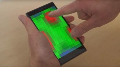 Das Pre-Touch-Display von Microsoft