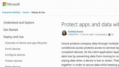 Microsoft hat seine Dokumentation komplett überarbeitet.