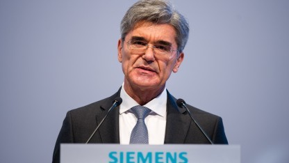 Siemens-Chef Joe Kaeser