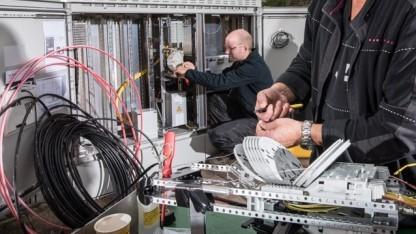 Netzausbau der Telekom