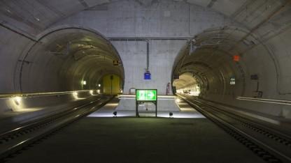 Der neue Doppeltunnel