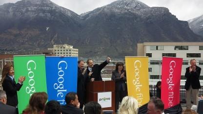 Google-Fiber-Ankündigung in Provo, Utah