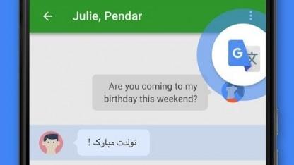 Die neue Tap-on-Translate-Funktion des Google-Übersetzers unter Android