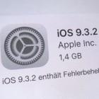 Bluetooth und Energiesparmodus: Apple repariert mit iOS 9.3.2 ärgerliche Fehler