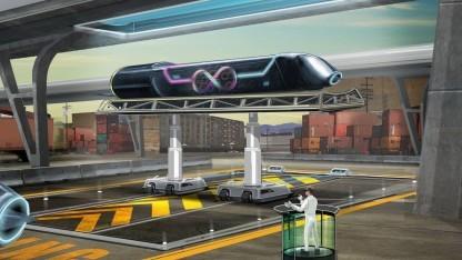 Hyperloop: Waren an einem Tag von China nach Europa