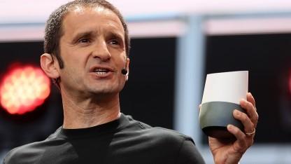 Google Home als Konkurrenz zu Amazons Echo
