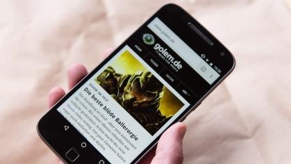 Lenovos Moto G4 Plus mit 5,5-Zoll-Touchscreen