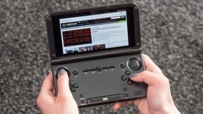 Äußerlich ähnelt der GPD XD dem Nintendo 3DS XL.