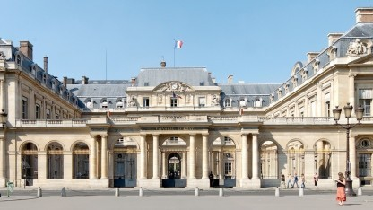 Der Staatsrat in Paris